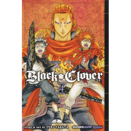 Манга: Black Clover Vol. 4
