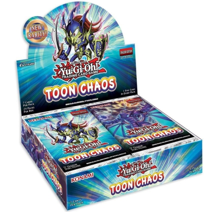 Yu-Gi-Oh! TCG Toon Chaos Booster Box - 24 packs Unlimited Reprint