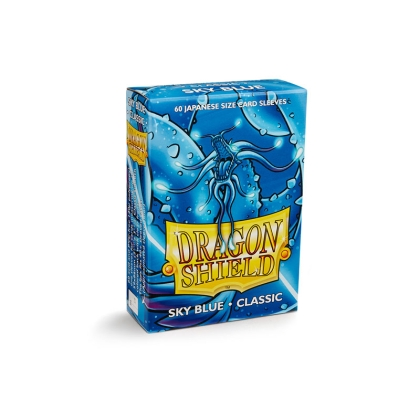 """ Dragon Shield "" Small Card Sleeves 60pc Classic - Sky Blue"