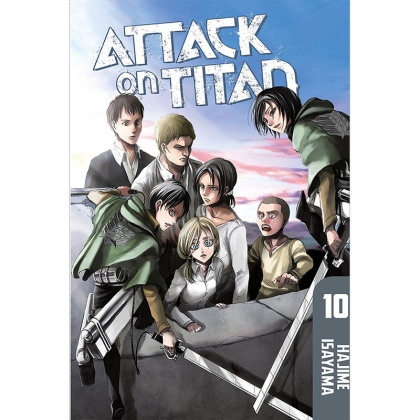 Манга: Attack On Titan vol. 10