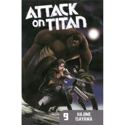 Манга: Attack On Titan vol. 9