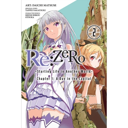 Манга: Re:ZERO -Starting Life in Another World-, Chapter 1: A Day in the Capital, Vol. 2