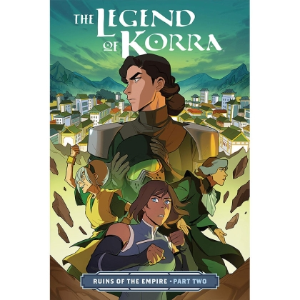 Комикс: The Legend of Korra Ruins of the Empire Part 2