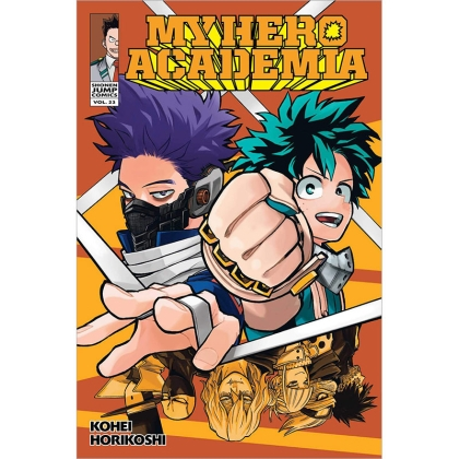 Манга: My Hero Academia Vol. 23