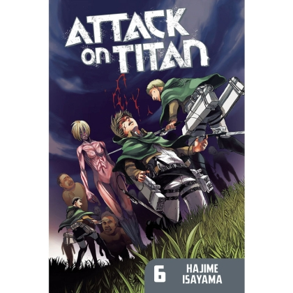 Манга: Attack On Titan vol. 6