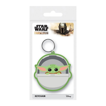 Star Wars The Mandalorian Rubber Keychains The Child 6 cm