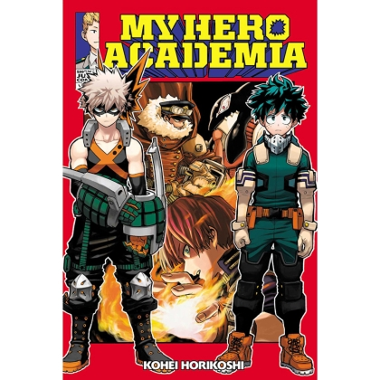 Манга: My Hero Academia Vol. 13