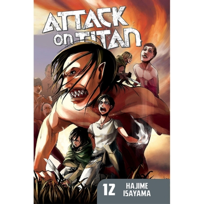 Манга: Attack On Titan vol. 12