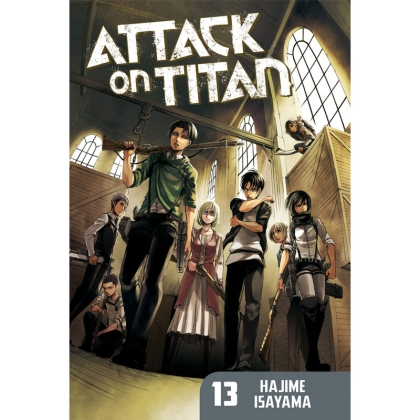 Манга: Attack On Titan vol. 13
