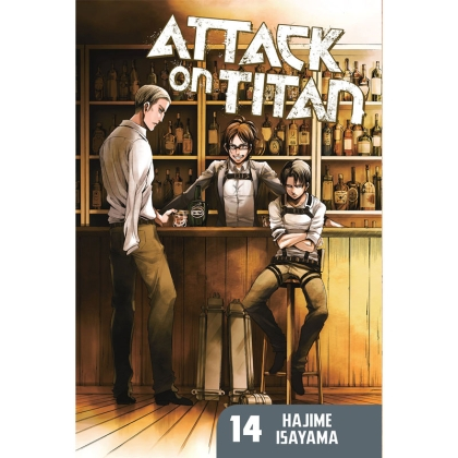 Манга: Attack On Titan vol. 14