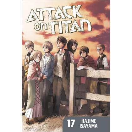 Манга: Attack On Titan vol. 17