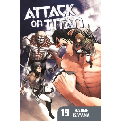 Манга: Attack On Titan vol. 19