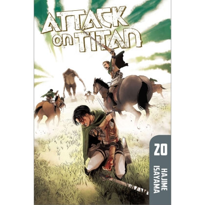 Манга: Attack On Titan vol. 20