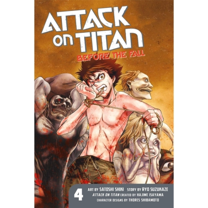 Манга: Attack on Titan: Before the Fall vol. 4