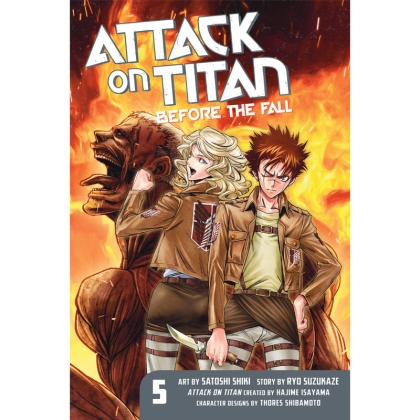 Манга: Attack on Titan: Before the Fall vol. 5
