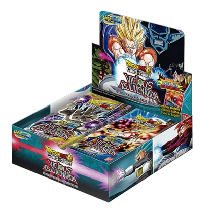 DRAGON BALL SUPER CARD GAME Unison Warrior Series VICIOUS REJUVENATION - Бустер Кутия