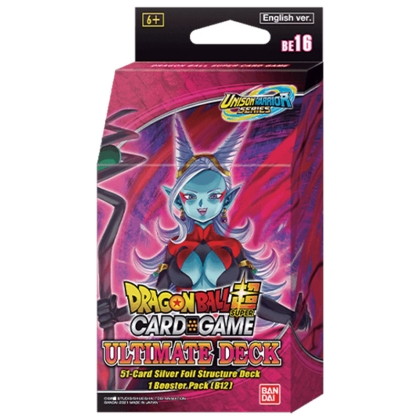 DRAGON BALL SUPER CARD GAME Ultimate Deck - Тесте