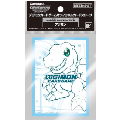 Digimon Card Game Стандартни Протектори за карти 60 броя - Agumon