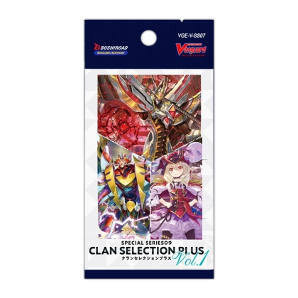 Cardfight!! Vanguard Special Series Clan Selection Plus Vol.1 Бустер