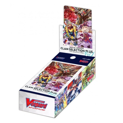 Cardfight!! Vanguard Special Series Clan Selection Plus Vol.1 Бустер Кутия
