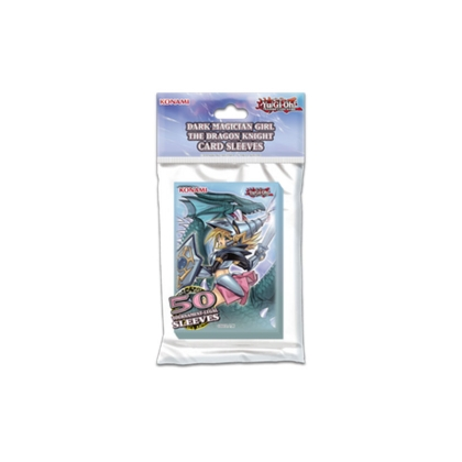 Yu-Gi-Oh! TRADING CARD GAME Dark Magician Girl the Dragon Knight - Протектори за карти
