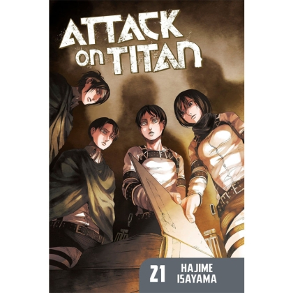Манга: Attack On Titan vol. 21
