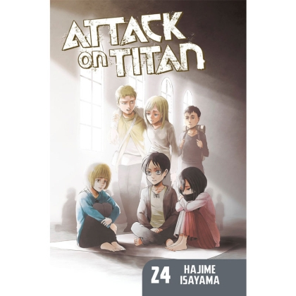 Манга: Attack On Titan vol. 24