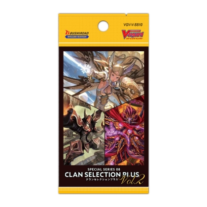 Cardfight!! Vanguard Special Series 08 Clan Selection Plus Vol. 2 Бустер