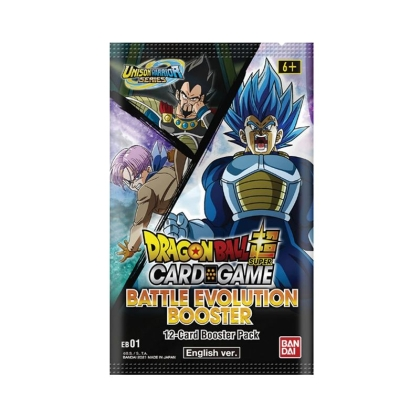 DRAGON BALL SUPER CARD GAME Battle Evolution Бустер [EB-01]