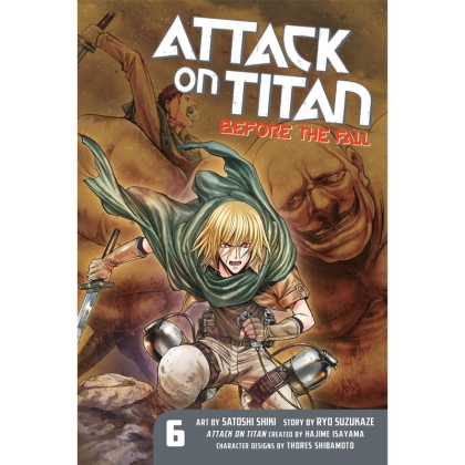 Манга: Attack On Titan Before The Fall vol. 6