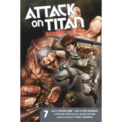 Манга: Attack On Titan Before The Fall vol. 7