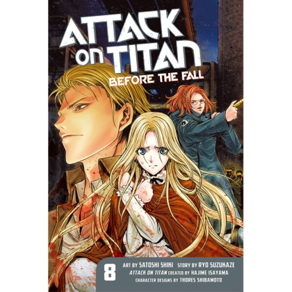 Манга: Attack On Titan Before The Fall vol. 8