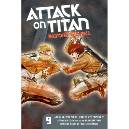 Манга: Attack On Titan Before The Fall vol. 9