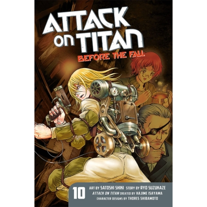 Манга: Attack On Titan Before The Fall vol. 10