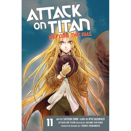 Манга: Attack On Titan Before The Fall vol. 11