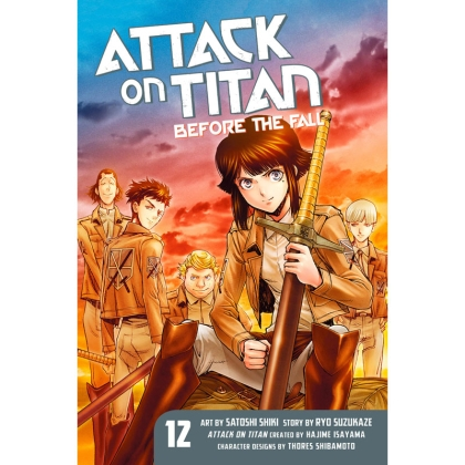 Манга: Attack On Titan Before The Fall vol. 12