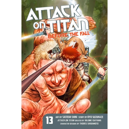 Манга: Attack On Titan Before The Fall vol. 13