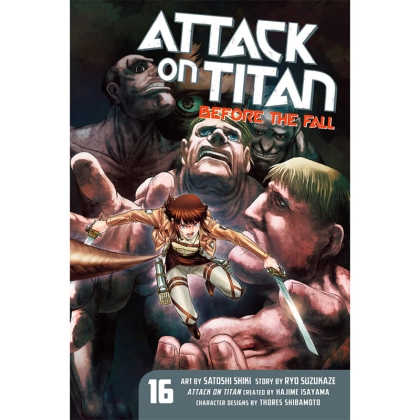 Манга: Attack On Titan Before The Fall vol. 16