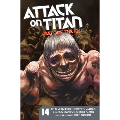 Манга: Attack On Titan Before The Fall vol. 14