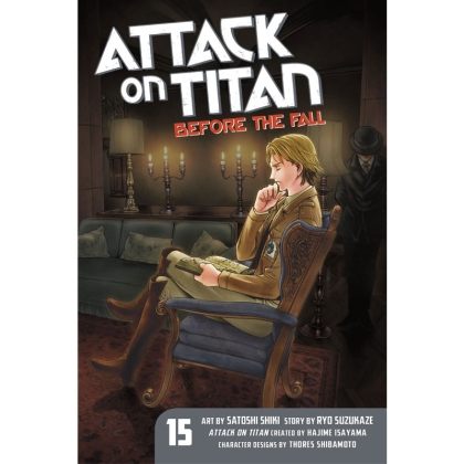 Манга: Attack On Titan Before The Fall vol. 15