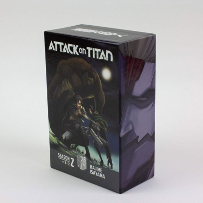 Манга: Attack On Titan Season 2 Box Set