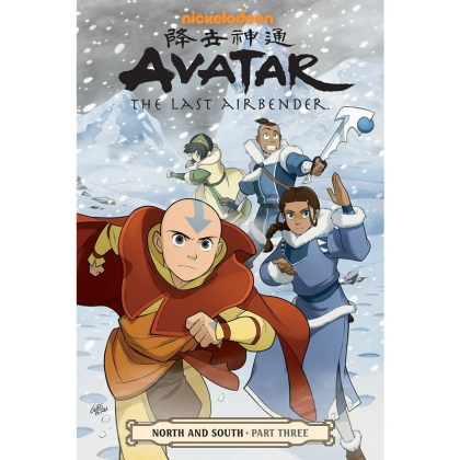 Комикс: Avatar: The Last Airbender--North and South Part 3