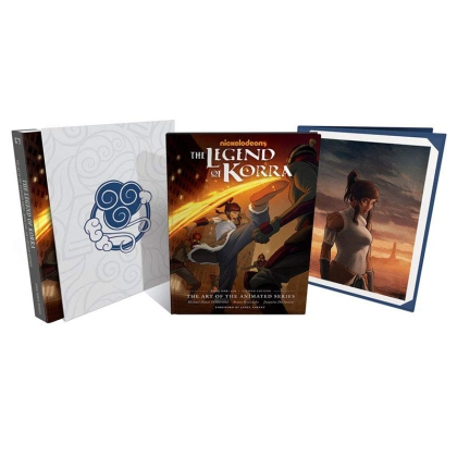 Комикс: The Legend Of Korra: The Art Of The Animated Series--book One: Air Deluxe Edition (second Edition)