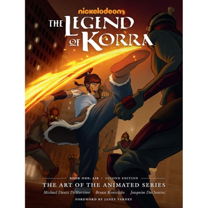 Комикс: The Legend of Korra : The Art of the Animated Series: Book One - Air | Second Edition