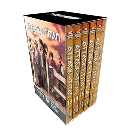 Манга: Attack on Titan Season 3 Part 1 Manga Box Set