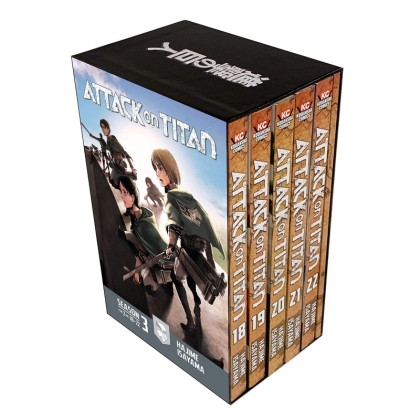 Манга: Attack on Titan Season 3 Part 2 Manga Box Set