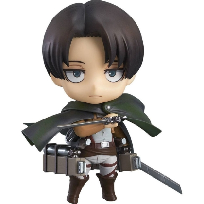 PRE-ORDER: Attack on Titan Nendoroid Екшън Фигурка - Levi