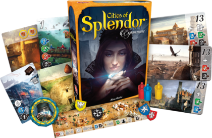 Cities Of Splendor - разширение за Splendor