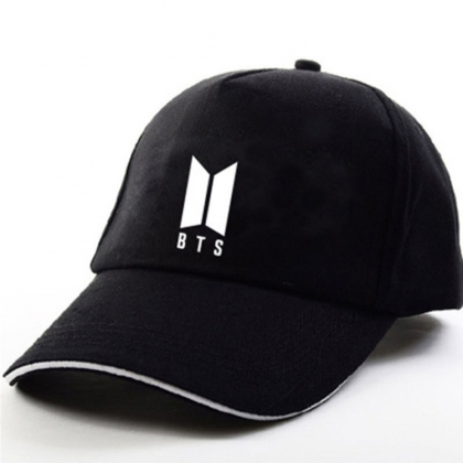 """ BTS "" Hat with logo"
