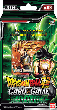 """ Dragon Ball Super Card Game ""  Стартово тесте - The Dark Invasion"